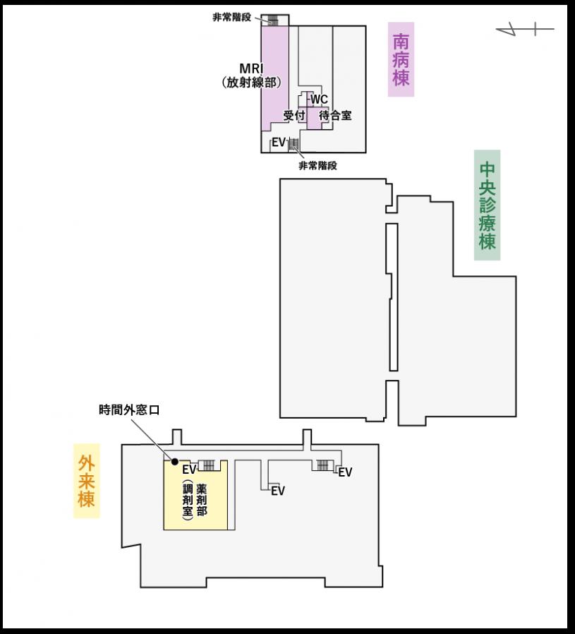 B1Fマップ